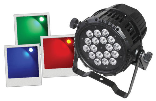 IPAR 318 - PAR 18X3 RGB IP65 AFX LIGHT
