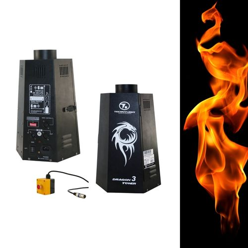 199€ DRAGON TOWER 3 LANCEUR DE FLAMME DMX NLP