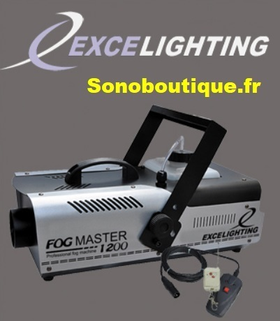 79€ MACHINE A FUMEE EXCELIGHTING FOG MASTER1200