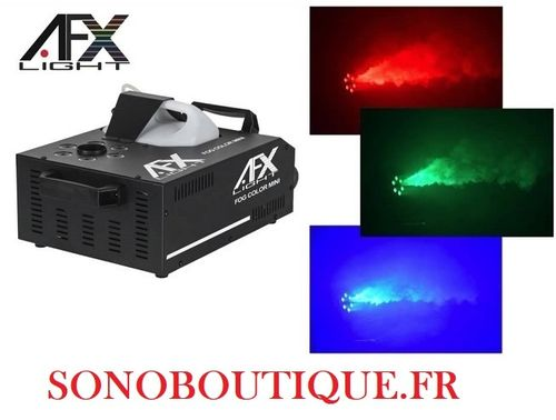 FOG-COLOR-MINI - Geyser MACHINE A FUMEE DMX AFX