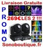 269€ PACK Must 2 LYRES LYRE SPOT A LED 60W