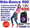 Party PARTY-SP500 Enceinte portable amplifiée