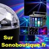 PACK LUMIERE DJ 1 ASTRO BALL 1 LED DERBY BUTTER