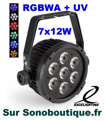 PAR COLOR 712 Excelighting PRO prix imbattable