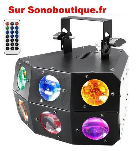 Lynx Matrix 24x3w Led 4en1 Dmx + HF Promo