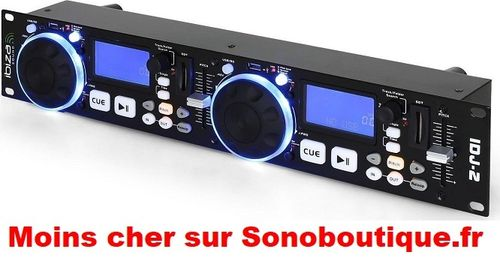 IBIZA SOUND IDJ2 Double controleur USB/SD
