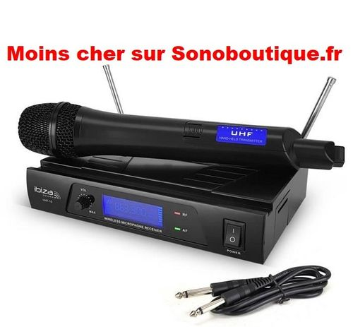 Système microphone UHF 1 Canal 863.90Mhz UHF10A