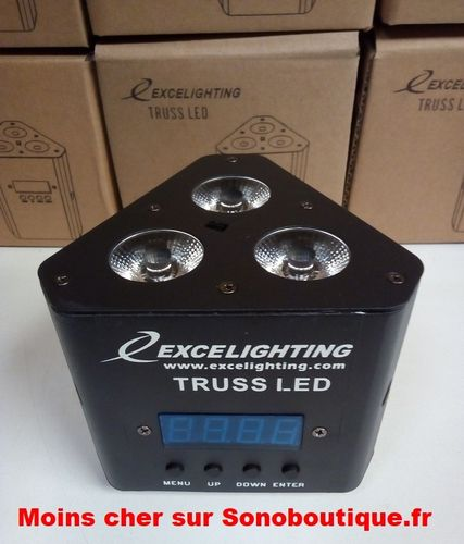 59€ le Truss Led Excelighting PRO 3X6W RGBW DMX