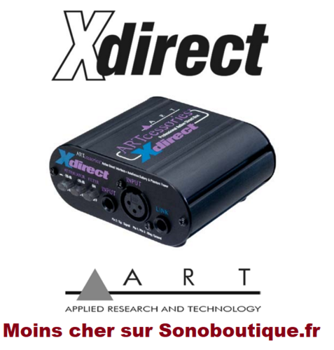ART Xdirect boîtier de direct actif