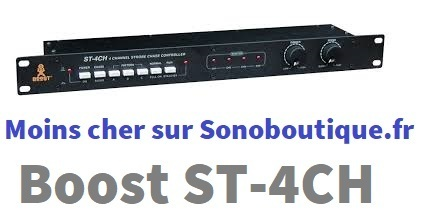 Boost Controller Dimmer pour Strobe ST4CH