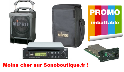 MA 707 PAD PACK MIPRO Complet avec CD