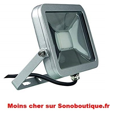Projecteur LED Design, Aluminium, 20 W, Blanc