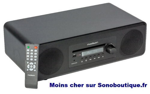 Sono Cd, FM & Bluetooth Madison MAD-MELODY-BK