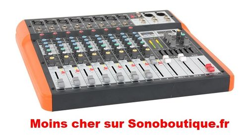 MX802 Console Orchestre 8 canaux USB & BT