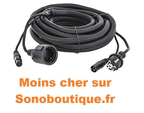 AFX Light combo-xlr-schuko-10 m