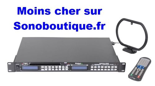 INSTALL ONE - IBIZA PLATINE CD MP3 RACKABLE